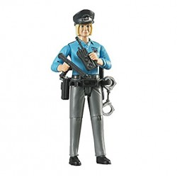 Poliziotta, pelle chiara,...