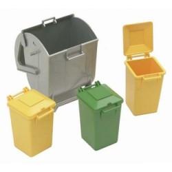 Set di contenitori di rifiuti