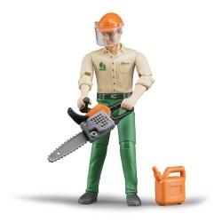 Lavoratore forestale con...