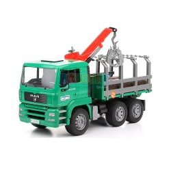 MAN Camion di legname con...